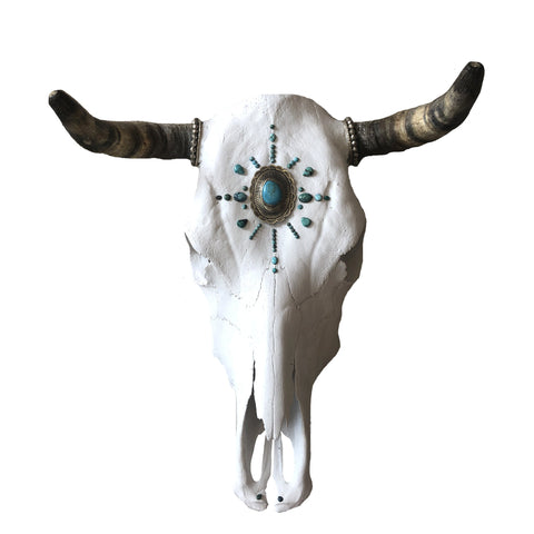 Native Tribes Cow Skull