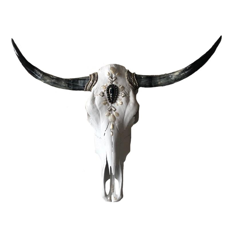Child of Wild Bones M Y S T I C Rebel Longhorn Skull