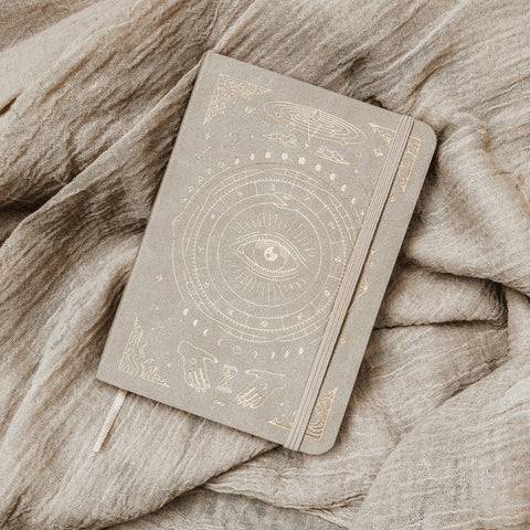 Magic of I Objects Stone / FINAL SALE MOI Vegan Leather Pocket Journal