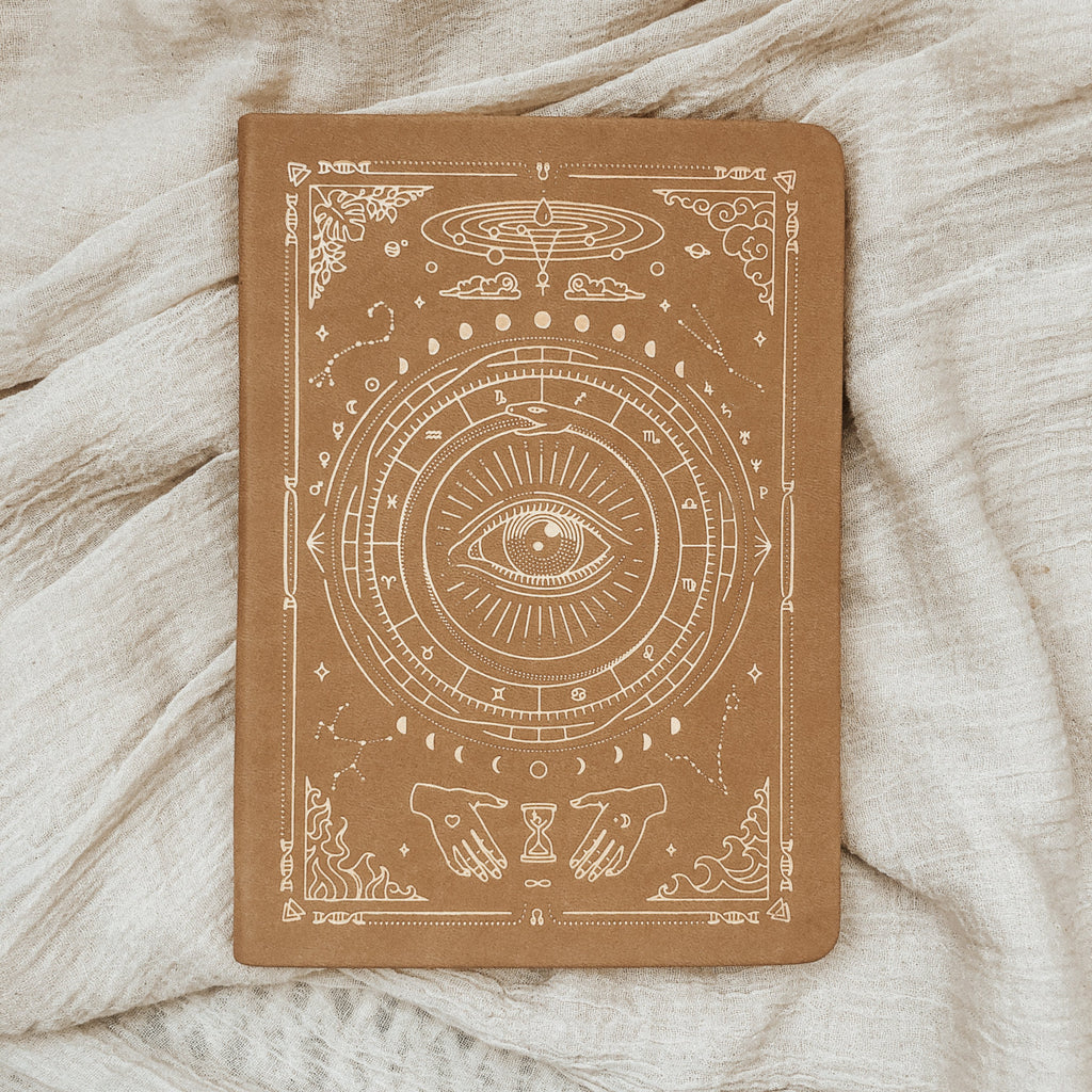 Magic of I Objects Fawn Brown / FINAL SALE MOI Vegan Leather Journal