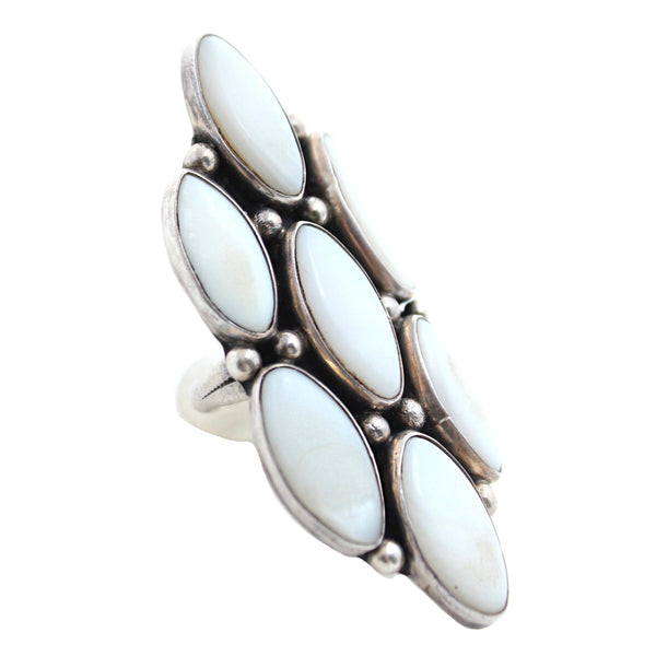 Moonstone Eyes Vintage Ring