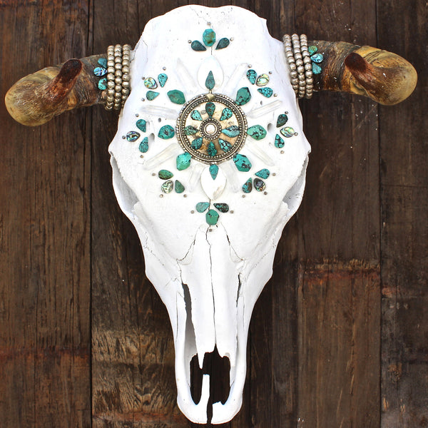Sea of Love Cow Skull - Child of Wild  - 2
