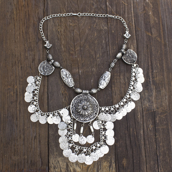 Child of Wild Jewelry Moon's Vengeance Indian Necklace