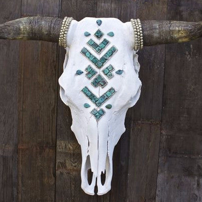 ÑAVAJᎾ s k i e s Cow Skull - Child of Wild  - 1