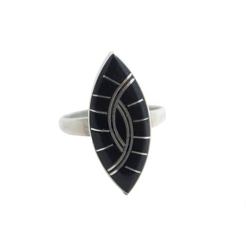 Noble Onyx Vintage Ring
