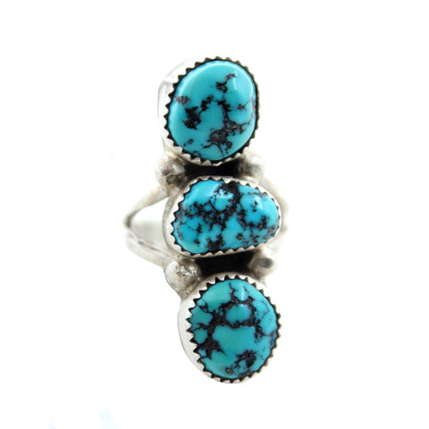Tides of the Moon Turquoise Ring