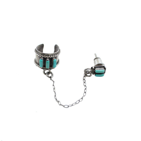 Sky Warrior Vintage Ear Cuff & Earring