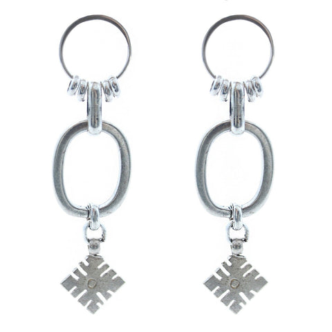 Child of Wild Jewelry Silver Tana Earrings