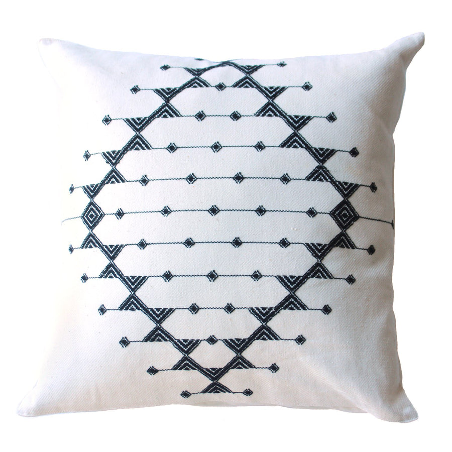 Roost Objects White / FINAL SALE Kashida Diamond Pillows