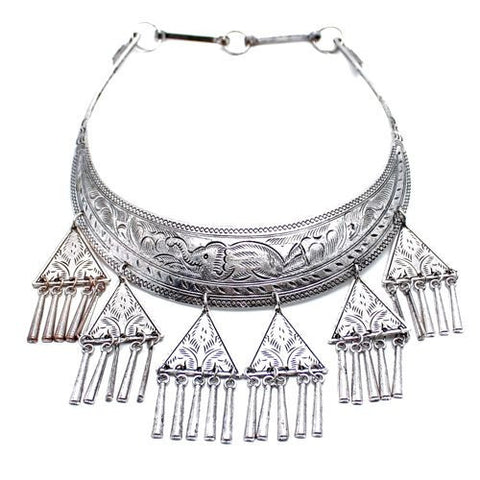 Child of Wild dead stock Silver / FINAL SALE Wandering Soul Hill Tribe Necklace