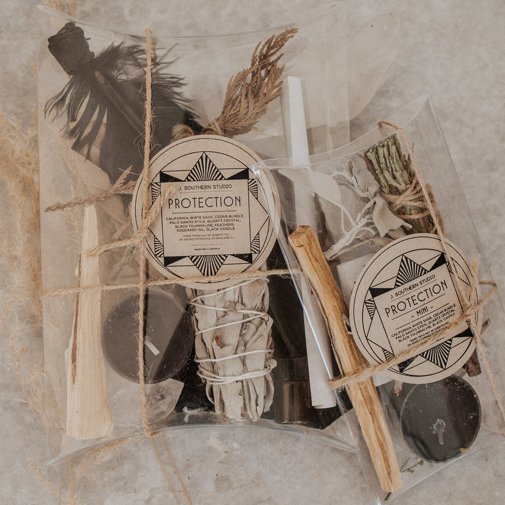 J. Southern Studio Objects Deluxe / FINAL SALE Protection Ritual Kit