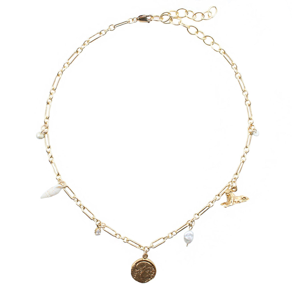 Goddess Jewelry Gold / 14 Inches Afterlife Necklace