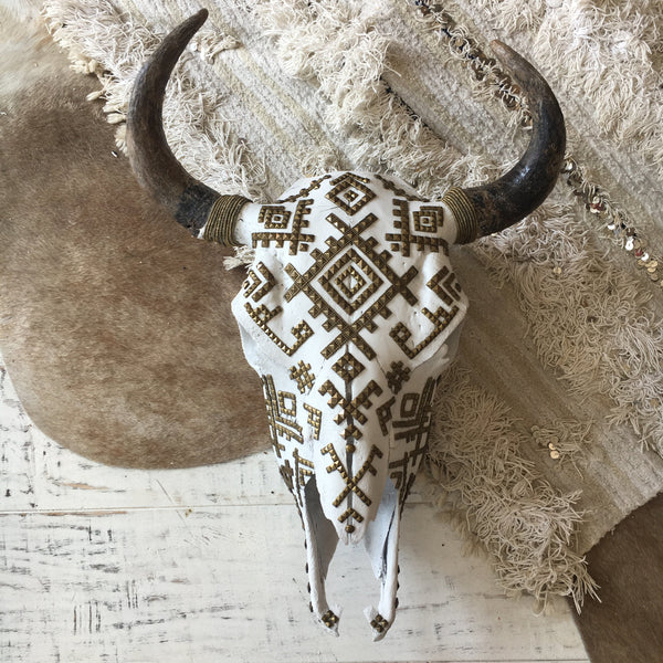 Child of Wild Bones Berber Tribes Buffalo Skull