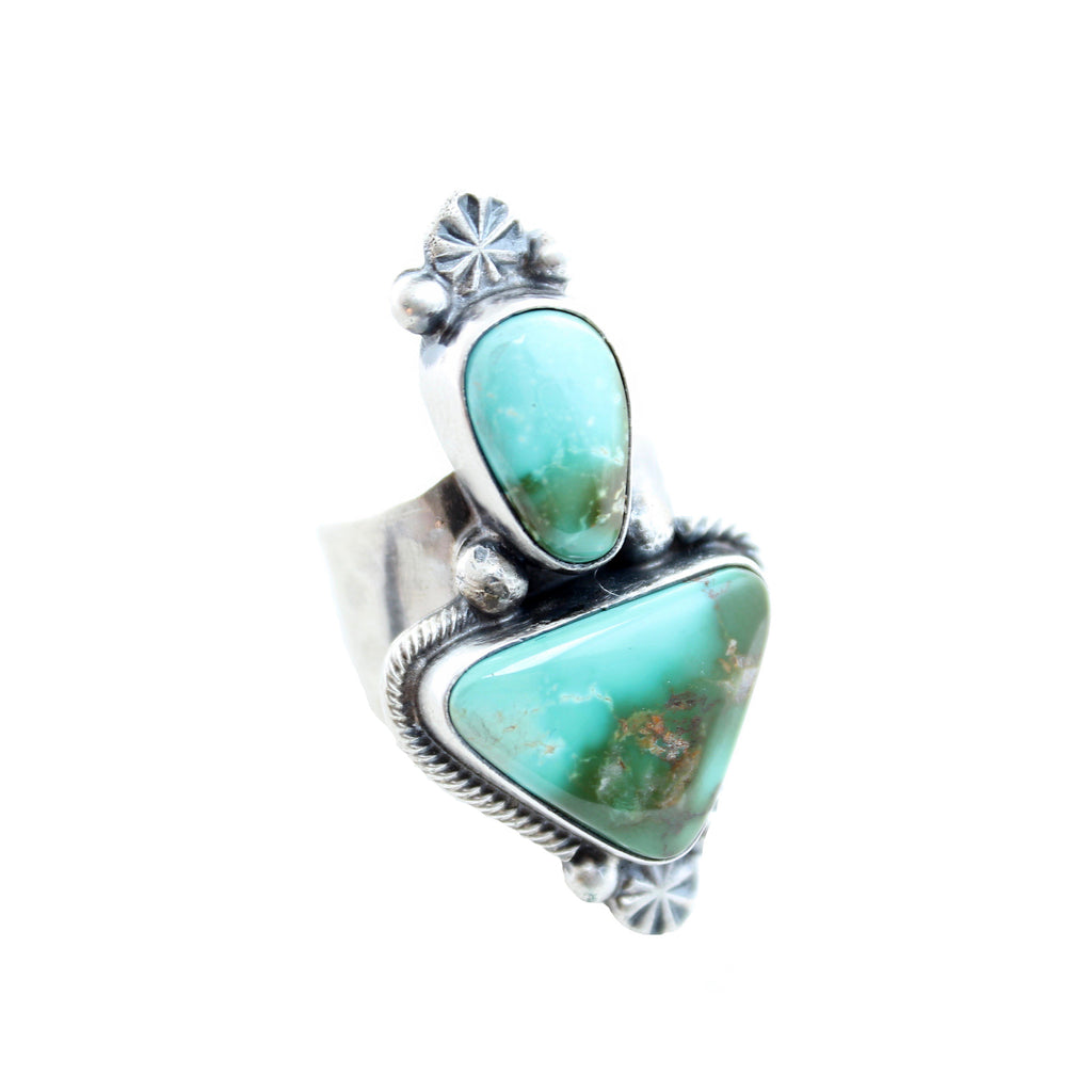 Sunwest Jewelry US 7 Waya Turquoise Ring