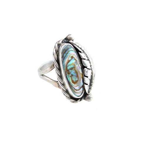 Vintage Native American Jewelry Silver Lakes Vintage Ring