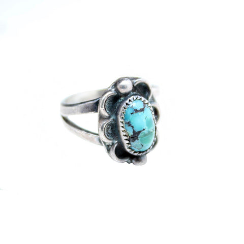 Vintage Native American Jewelry Desert Flower Vintage Ring