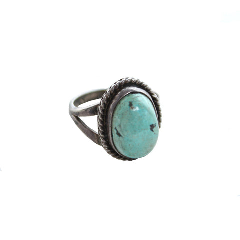 Vintage Native American Jewelry Treasured Turquoise Vintage Ring