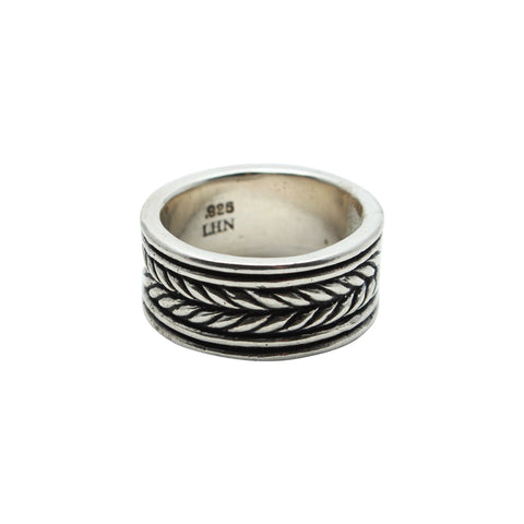 Child of Wild Mens Jewelry US 11 / Silver Silver Native American Ring