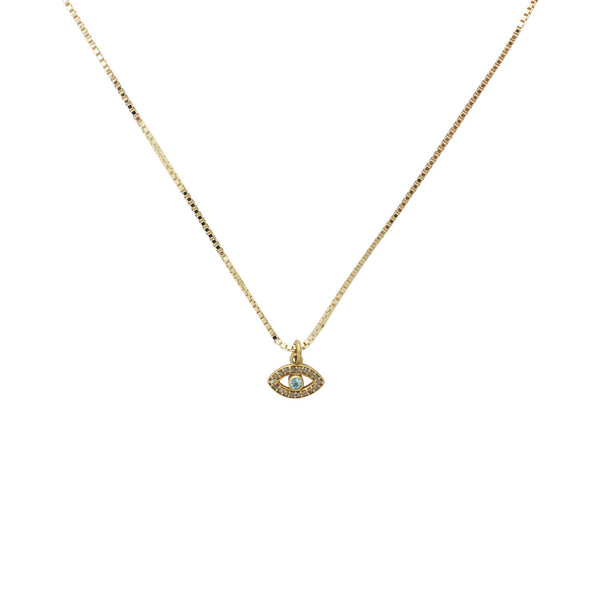 Goddess Jewelry Gold Talisman Necklace
