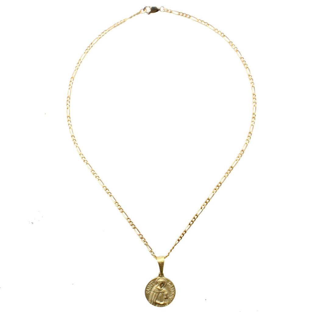 CGM Jewelry Gold St. Dominique Choker