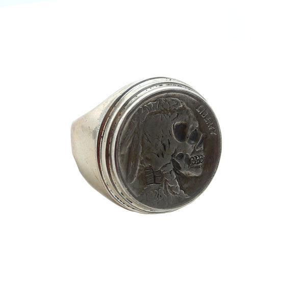 Anna King Mens Jewelry Skeleton Ring