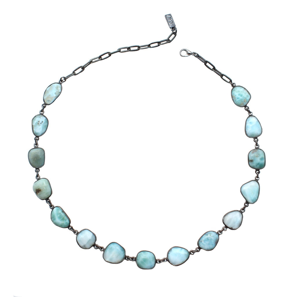Dona Italia Jewelry Silver / 16 Inches Lagoon Necklace