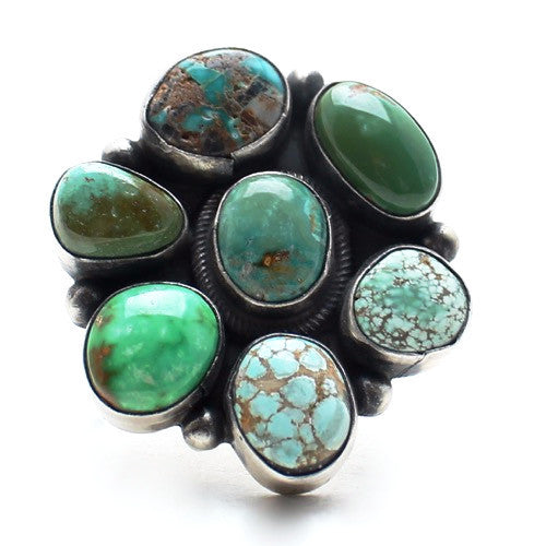 Wild Moss Native American Ring - Child of Wild  - 1