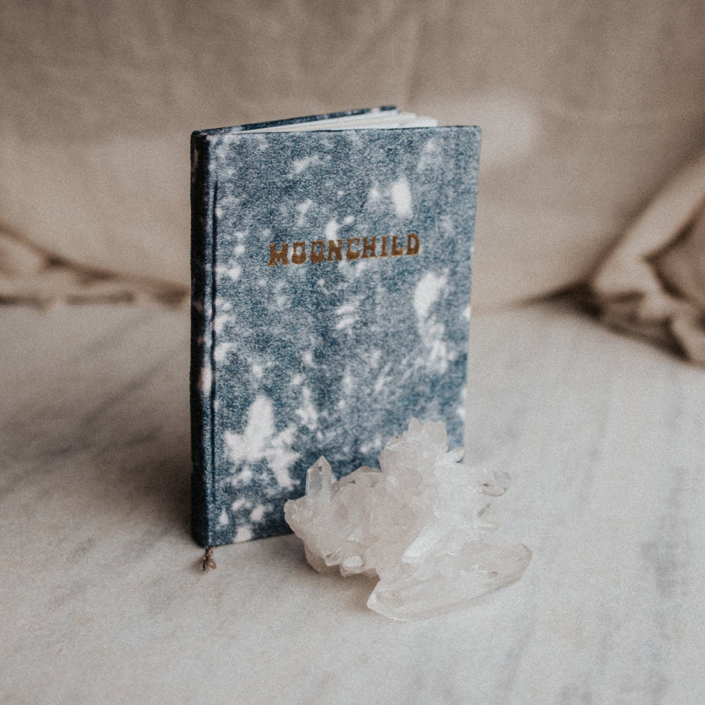 Printfresh Objects Tie Dye / FINAL SALE Moonchild Thin Velvet Journal