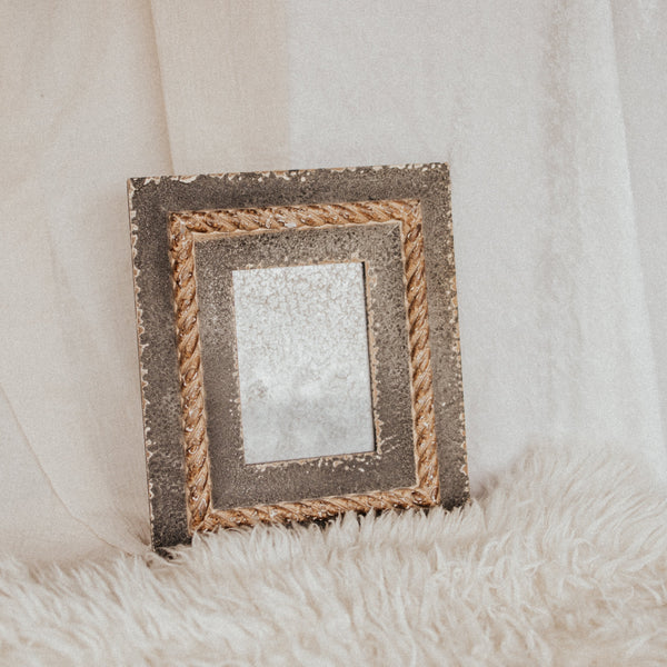 Vintage Objects Wood The Freudian Wood Mirror