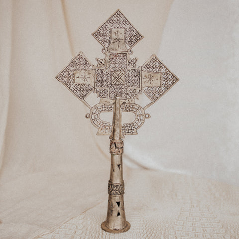 Ethiopia Objects Style 1 / FINAL SALE Axum Ethiopian Coptic Cross