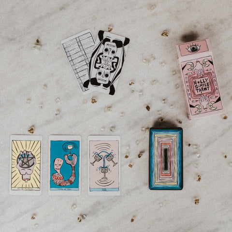 Holly Simple Objects Tarot Deck / FINAL SALE Holly Simple Tarot Deck