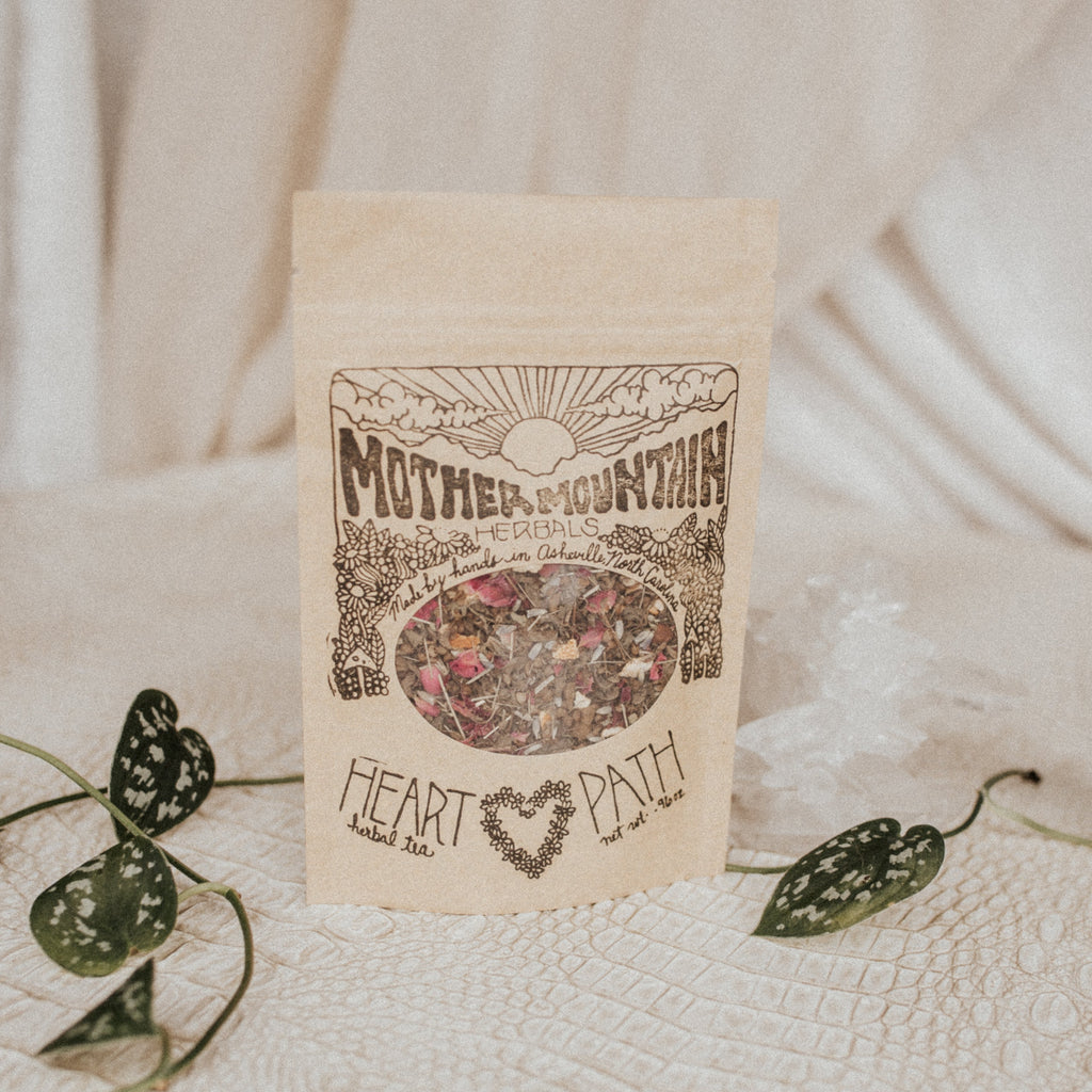 Mother Mountain Herbals Objects Heart Path / FINAL SALE Heart Path Herbal Tea