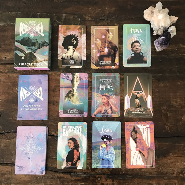 Mystic Rebel Objects Pink Mystic Rebel Oracle Deck