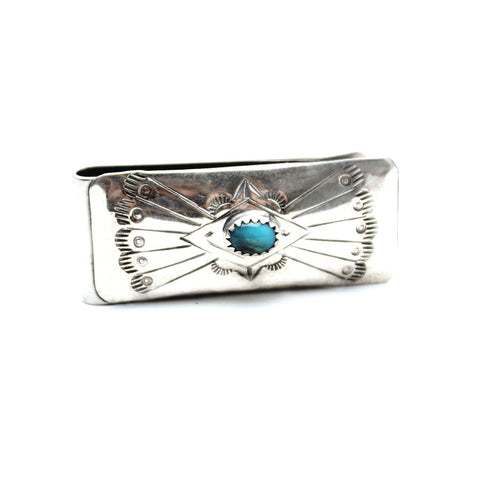 Wild Horses Navajo Money Clip