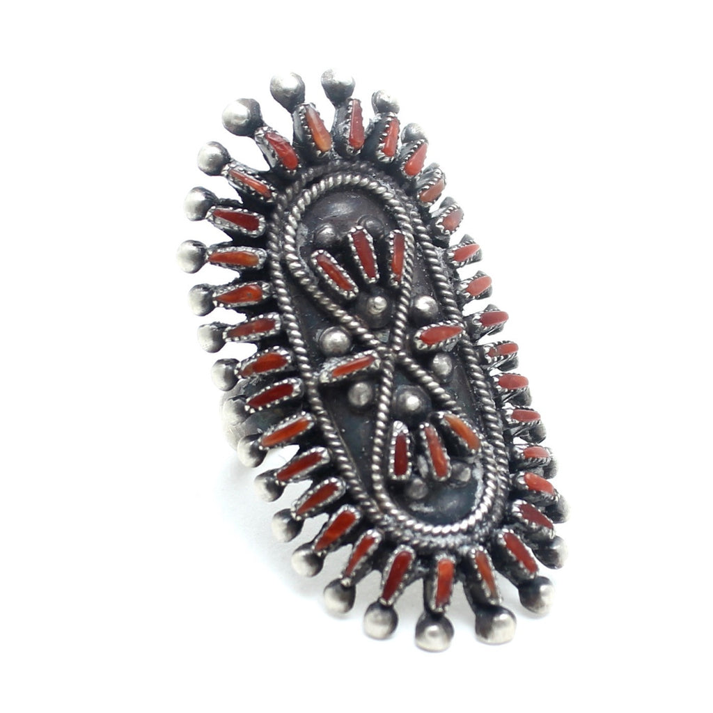 Red River Vintage Native American Ring - Child of Wild  - 1