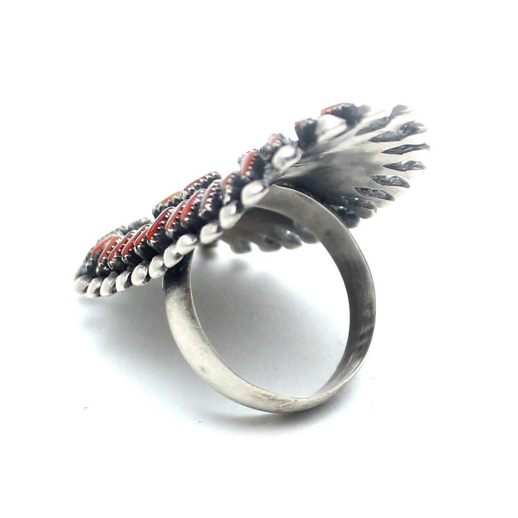 Red River Vintage Native American Ring - Child of Wild  - 2