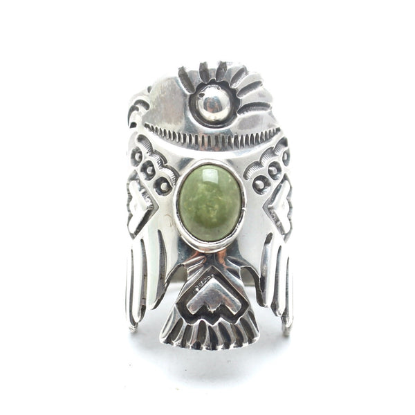 Vintage Native American Thunderbird Ring - Child of Wild  - 2