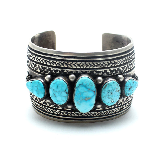 Peyote Vintage Native American Cuff - Child of Wild  - 2