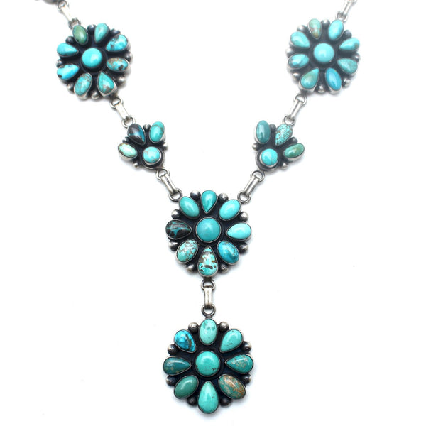 Native American Flower Blossom Necklace - Child of Wild  - 2