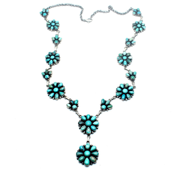 Native American Flower Blossom Necklace - Child of Wild  - 1