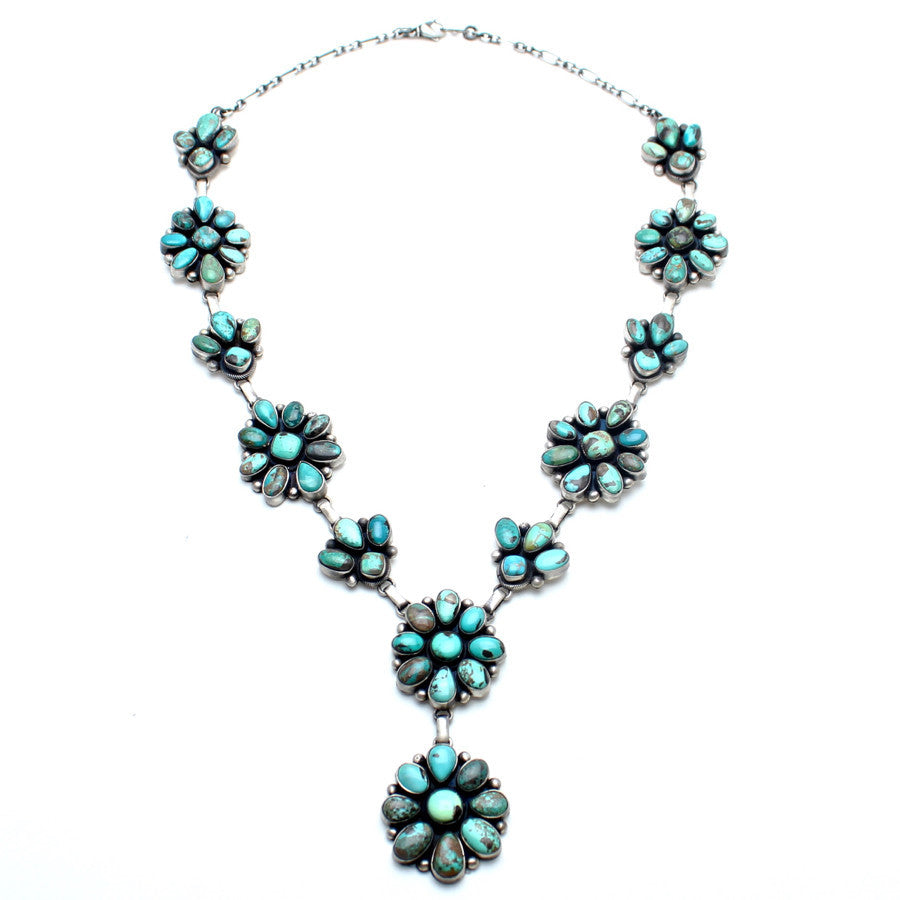 Native American Flower Blossom Necklace - Child of Wild  - 3