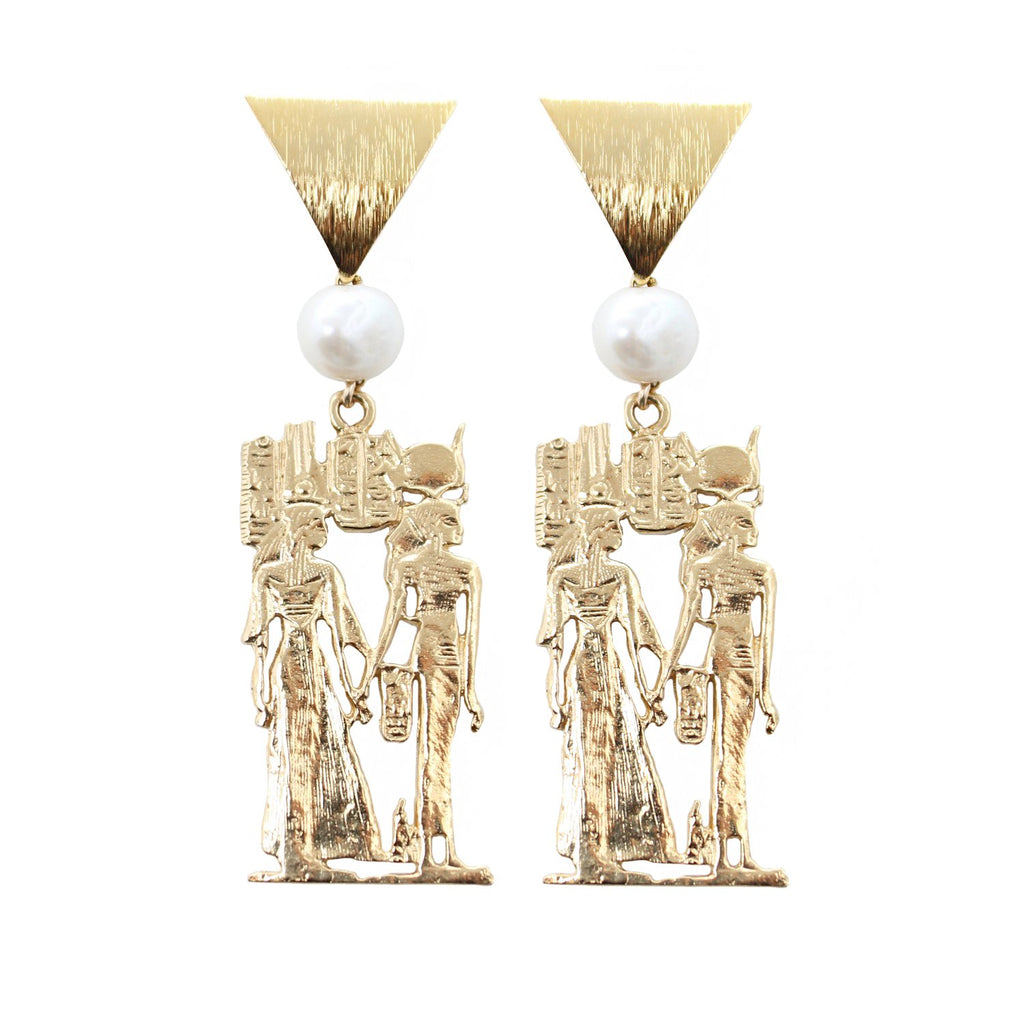 Queen Nefertari Earrings