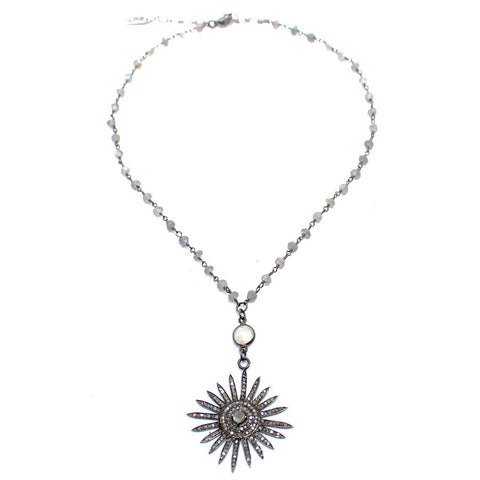 Sun DAZE Rosary Necklace - Child of Wild  - 1