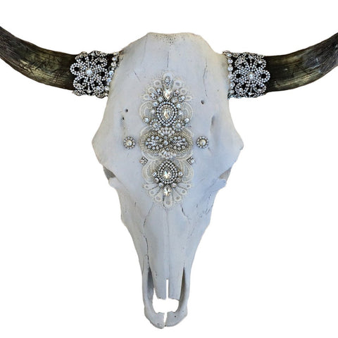 Royal Affair Cow Skull