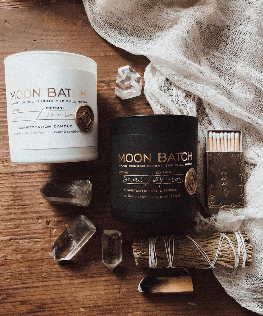 Ritual Provisions Objects Moon Batch Candles