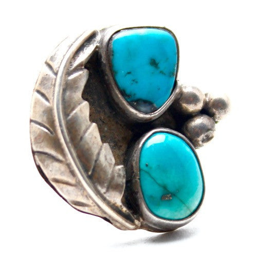 Two Lives Vintage Native American Ring - Child of Wild