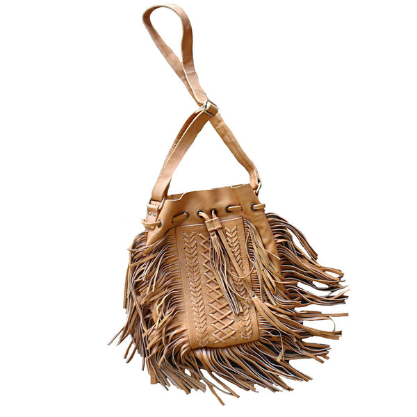 Bali Objects Tan / FINAL SALE Shiva Bali Bag