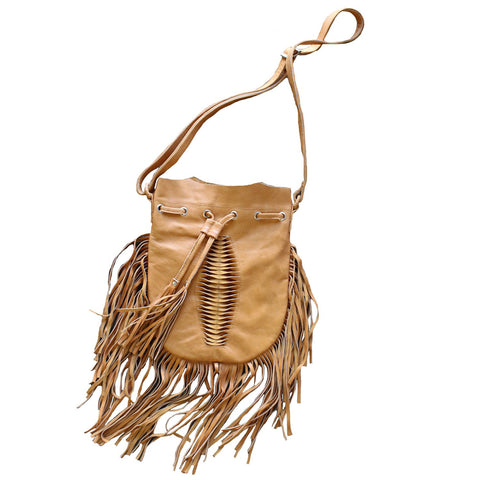 Bali Objects Tan / FINAL SALE Vishnu Bali Bag
