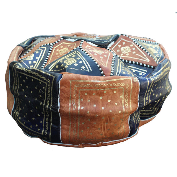 Morocco Objects Sahara Sunset Moroccan Pouf