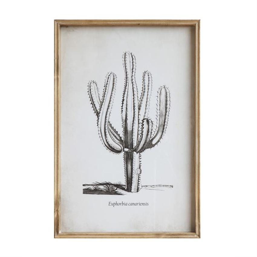Bloomingville Objects Cactus Wall Decor